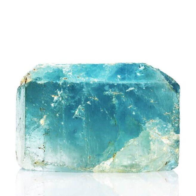 A blue crystal.